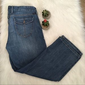 Lucky Brand Crop Jeans Size 10 / 30